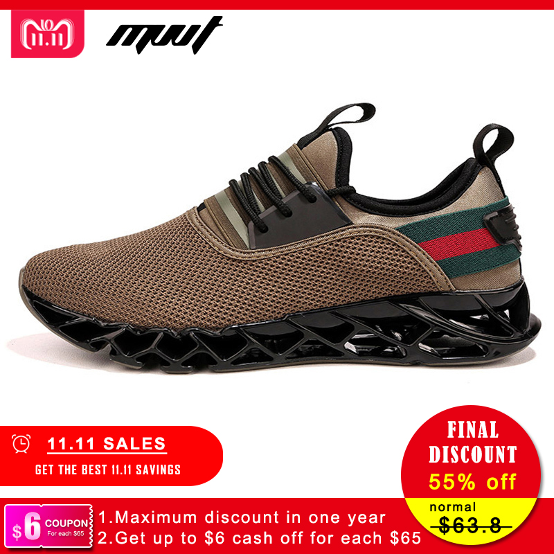 Summer New Breathable Men Running Shoes Cushioning Blade Sneakers Men Sport Shoes Traveling For Walking Shoes umbro men 2018 new spring breathable running shoes for men sneakers ui181ft0201
