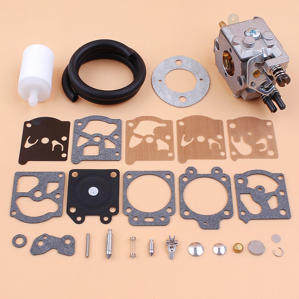 Carburetor Fuel Line Hose Filter Diaphragm Repair Kit For HUSQVARNA 51 55  Chainsaw Walbro Carb WT 170 1, K20 WAT-in Chainsaws from Tools on  Aliexpress.com ...