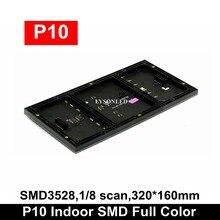 цена на LYSONLED 320x160mm Indoor SMD3528 P10 Led Module,1/8 Scan P10 Indoor LED Module SMD Rgb Led Video Display Panel 32x16 Dots