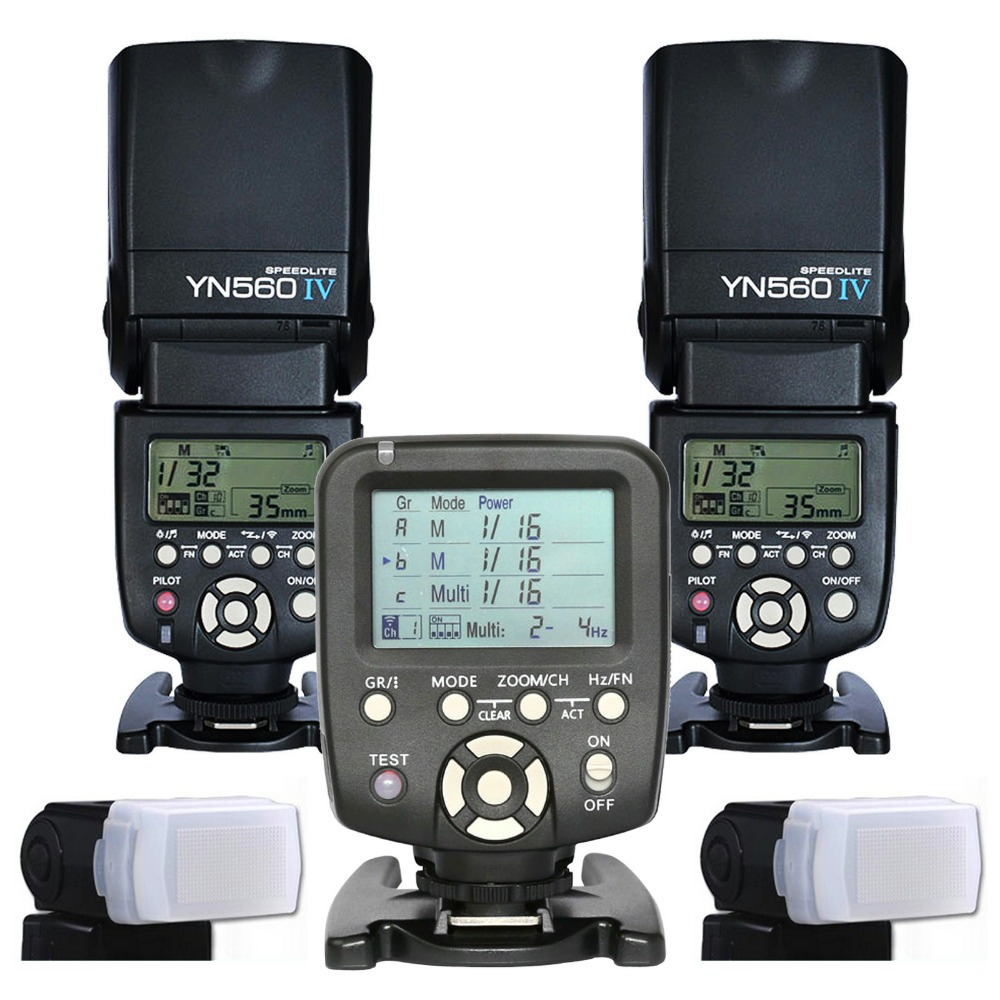 2017 2pcs Yongnuo 560IV YN560IV Wireless Flash Controller Speedlite Speedlight + YN560 TX For Canon DSLR Camera yongnuo yn685 yn 685 беспроводной доступ в эти speedlite флэш построить в ttl приемник работает с yn622c yn622ii c yn622c tx yn560iv yn560 tx