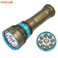 Diving lights 9 L2 LED 30000 Lumens Diving flashlight Waterproof lamp Submersible lamp Work underwater Torch Diving light