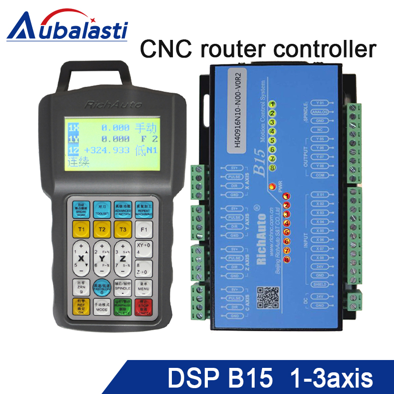 цена на 3 AXIS cnc router controller DSP B15 input voltage 24v3a support servo and stepper motor