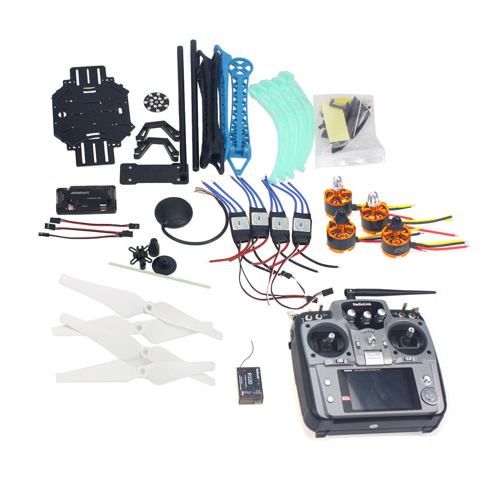 F08151 L jmt RC Drone Quadrocopter Aircraft Kit 500mm Multi Rotor Air Frame 6M GPS APM2