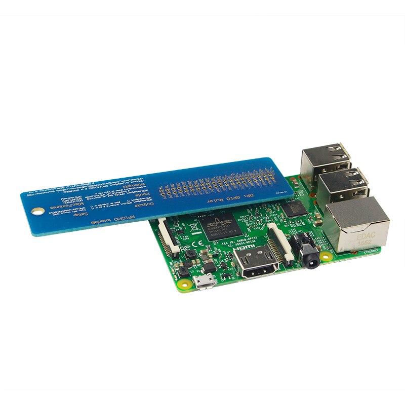 Новое поступление Raspberry Pi 3 Модель B GPIO линейка с GPIO код для Raspberry Pi 2/3 Raspberry Pi zero GPIO справки правитель ...