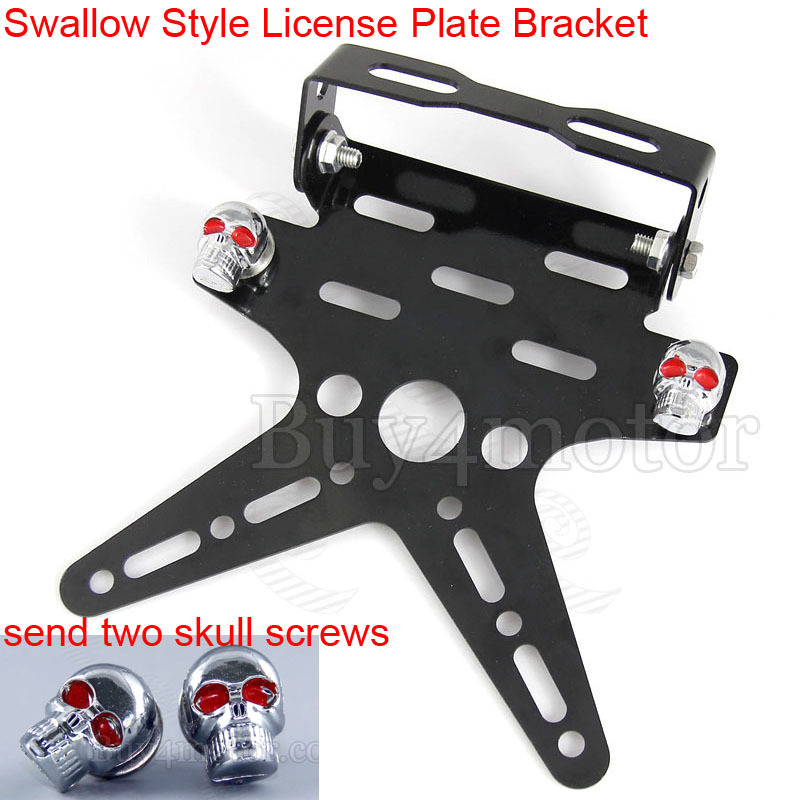 Motorcycle Scooter License Plate Bracket Licence Plate Holder Hanger Tail Tidy Bracket For Honda Yamaha harley and davidson 4374-in License Plate from ...  sc 1 st  AliExpress.com & Motorcycle Scooter License Plate Bracket Licence Plate Holder Hanger ...
