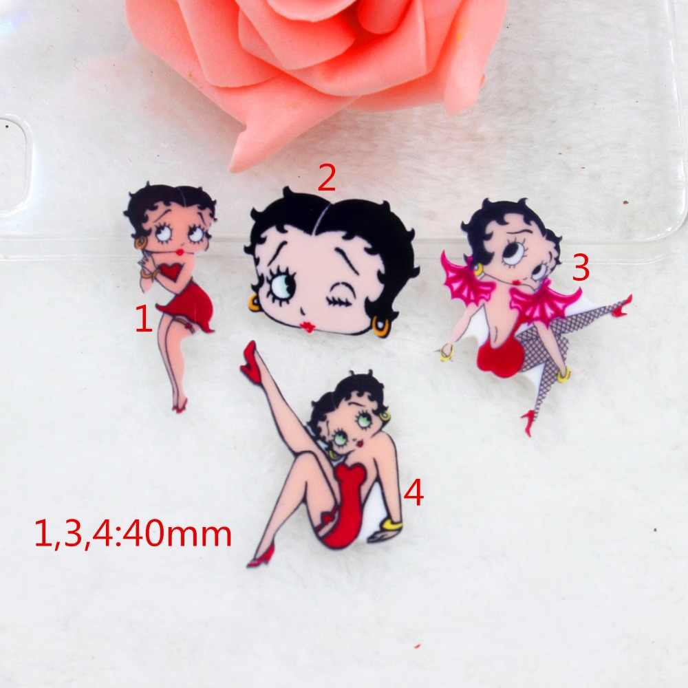 10pcs/lot DIY planar resin fashion women kawaii flat back resin cabochons accessories