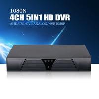 YiiSPO 4CH 1080N TVI CVI AHD5in1 DVR 8CH 1080P NVR Video Recorder AHD DVR For AHD