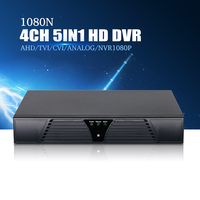 YiiSPO 4CH 1080N TVI CVI AHD5in1 DVR 8CH 1080P NVR Video Recorder AHD DVR For AHD