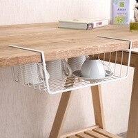 Kitchen Storage Cupboard Towel Cup Drain Storage Rack Dishes Holder Office Book Magazine Organizer Hanging Basket