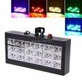 18 светодиодный RGB светильник проектор стробоскоп светильник для DJ клуба диско KTV вечерние шоу ЕС штекер 0-25 Вт Оптовая и Прямая поставка