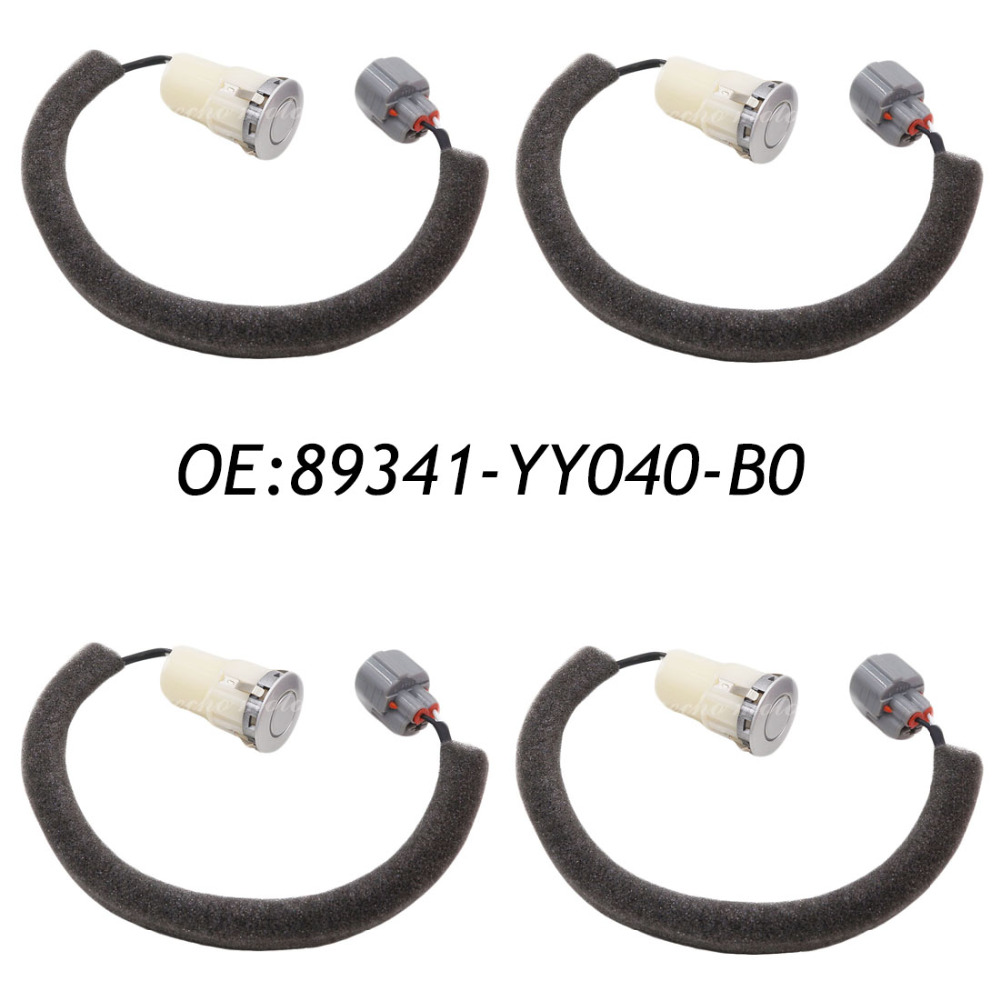 цены New 4PCS 89341-YY040-B0 89341-YY040 PDC Parking Sensor Bumper Reverse for Toyota Rav4 Camry