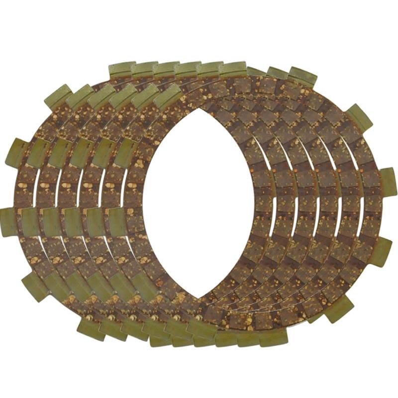 6 pcs Clutch Plates for XT250 09-13 XT250X 08-10 YFM25R Raptor 250 08-13 YFM25RSE 09 YFM25RSP 08 11 Motorcycle Clutch Disc Set
