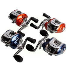 Sougayilang Baitcasting Fishing Reel 10+1BB Super Light Carbon Body Right Left Hand Metal Saltwater Mini Fishing Reels Carp
