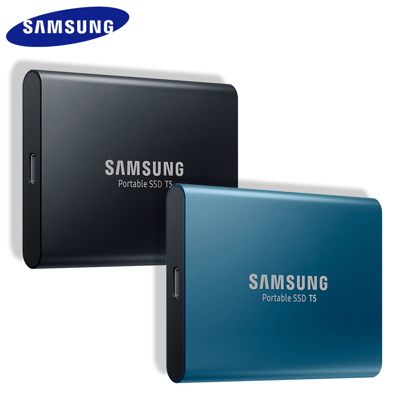 SAMSUNG T5 SSD HDD 250GB 500GB 1TB Portable Top Original External HD Drive USB 3 1