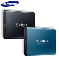 SAMSUNG T5 SSD HDD 250 ГБ 500 1 ТБ Портативный; первоклассные оригинальные внешние HD флэш-накопитель USB 3,1 для настольных ПК Внешний жесткий диск