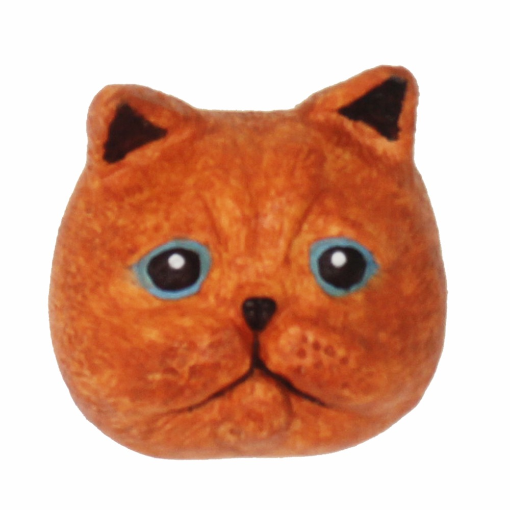 Pottery & Ceramics Blue Cat Shape Ultra-light Clay Car Aromatherapy Plaster Diffused Stone Cake Fondant Mold Keep You Fit All The Time