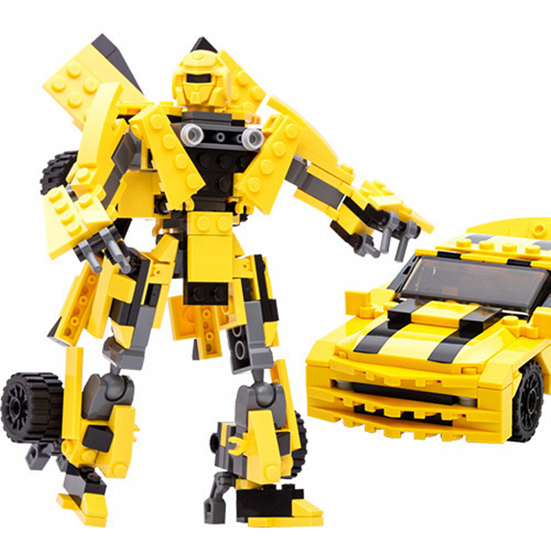 8711 Transform Series 2 in 1 robots building block 221 pcs ABS legoINGS toy challenger assemble toy boy/girls gift hot sell