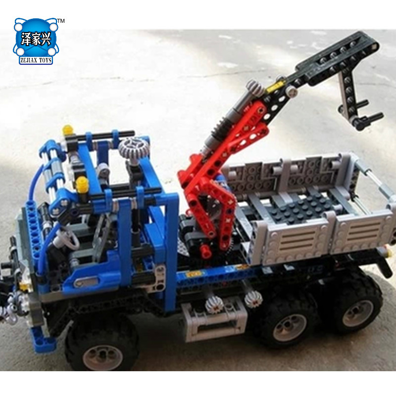 Technic Series Off Road Truck DIY Building Bricks Toys for Children Game Model Car Gift Compatible with Lepins 3D Toys diy city square building bricks blocks figures toys for children game model car gift compatible with lepins 3d toys