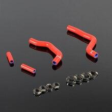 Silicone Radiator Coolant Hoses Kit For KAWASAKI KX125 KX125 2005 2006 2007