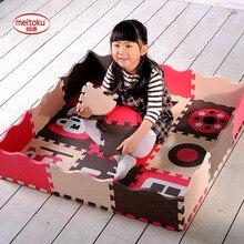 Meitoku Baby play puzzle mat,EVA Foam Interlocking Rugs Tile