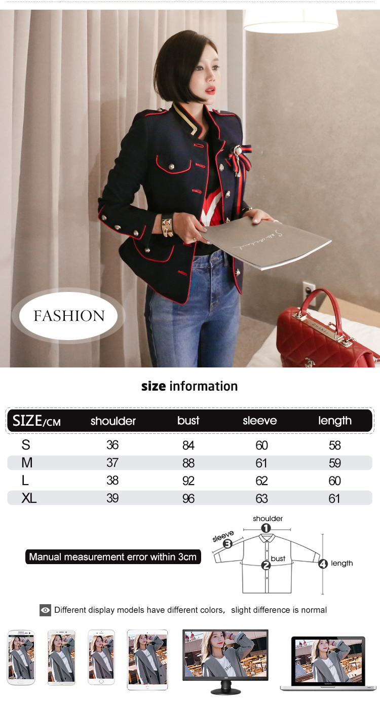 HTB1id9pRpzqK1RjSZFoq6zfcXXak - spring new arrival fresh high quality coat women fashion comfortable vintage elegant holiday solid cute work style jacket