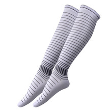 Men Elastic Compression Long Socks Warm Breathable Anti Slip Protection Ankle Casual Socks High Quality