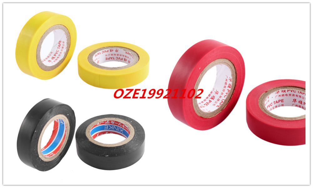2PCS Self Adhesive Insulated Electrical Tape Roll Harness 14mm x 7M 1pcs 18mm x 5mm single sided self adhesive shockproof sponge foam tape 3 meters