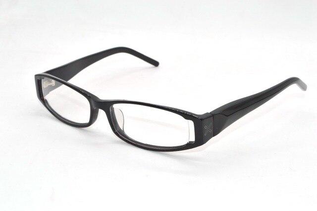 Wavy temples black Acetate Frames Custom Made prescription lenses ...