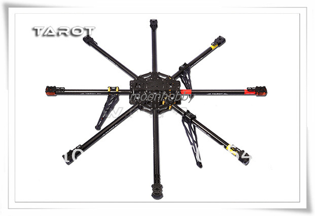 Tarot IRON MAN 1000 8 axis aircraft TL100B01 carbon fiber Rack tarot tl68b14 6 axis aircraft hexcopter fy680 fy650 inverted battery rack ship with tracking number