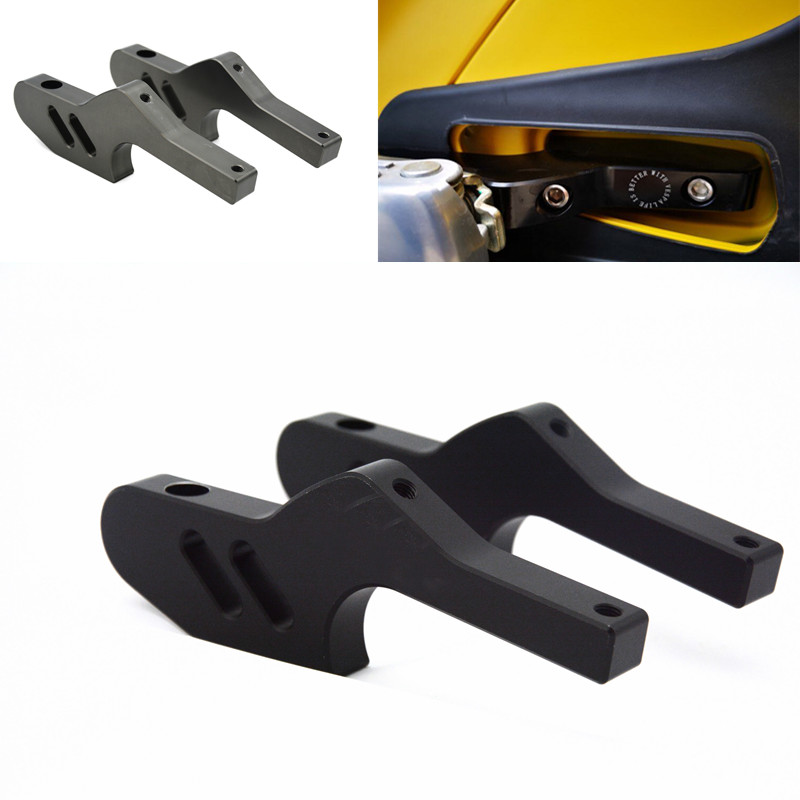 Hot Sale Passenger Foot Peg Extensions Extended Footpegs for Vespa GT GTS GTV 60 125 200