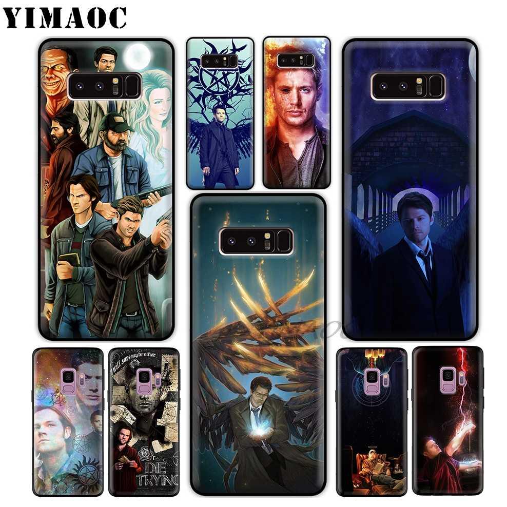 YIMAOC Supernatural 2 Art Molle di TPU Custodia In Silicone per Samsung Galaxy S10 S10e S9 S8 Più S7 S6 Bordo S9 plus e J6