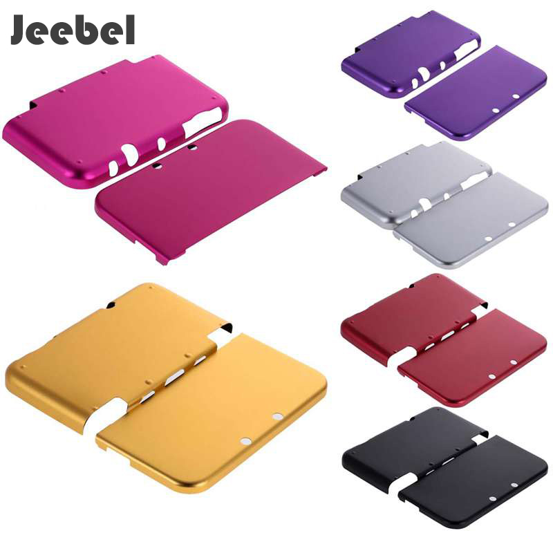 Jeebel Nintend New 3DS XL Case Aluminium ABS Muti-Colors High Quality Protective Strong Hard Shell Skin Case Full Cover New 3DS new high quality aluminium metal skin protective hard case cover full housing case for nintendo for new 3ds xl ll console