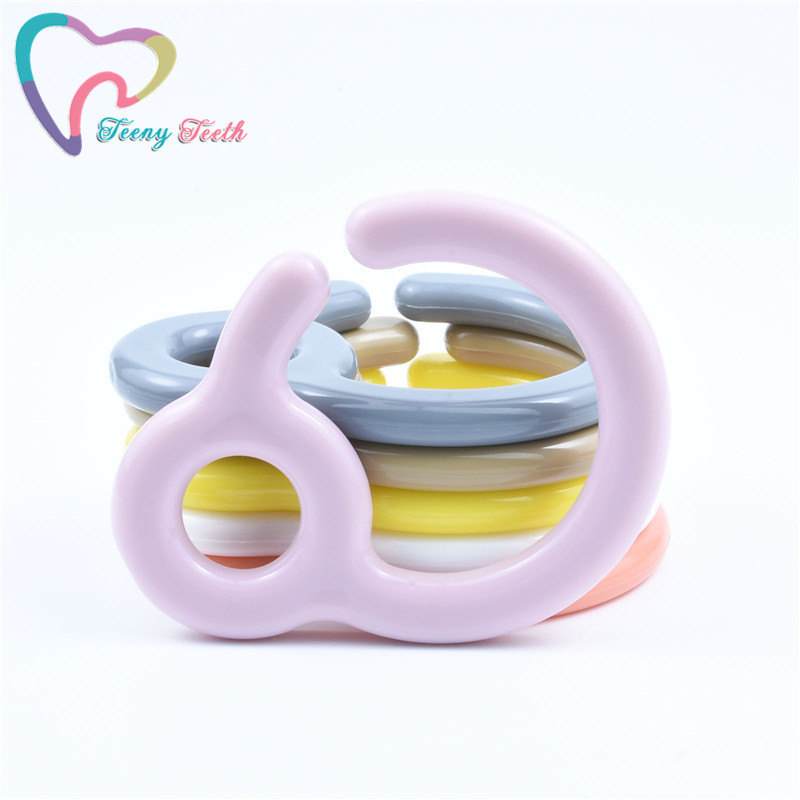 10 pcs Button Silicone Ring Mam Pacifier Holder Mannequin Clip Adapter TranspaB8