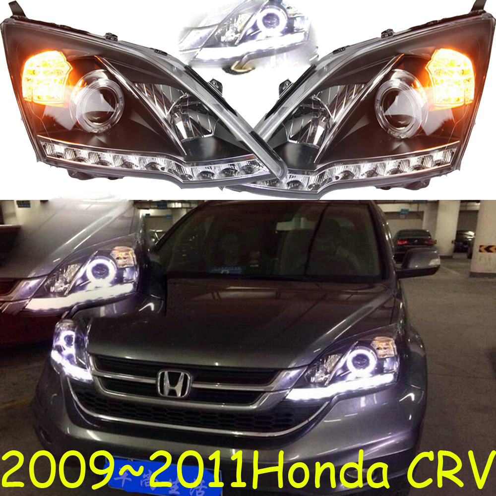 HID,2009~2011/2012~2015,Car Styling for CR Headlight,insight,MDX,Passport,ridgeline,pilot, Delsol,CR head lamp