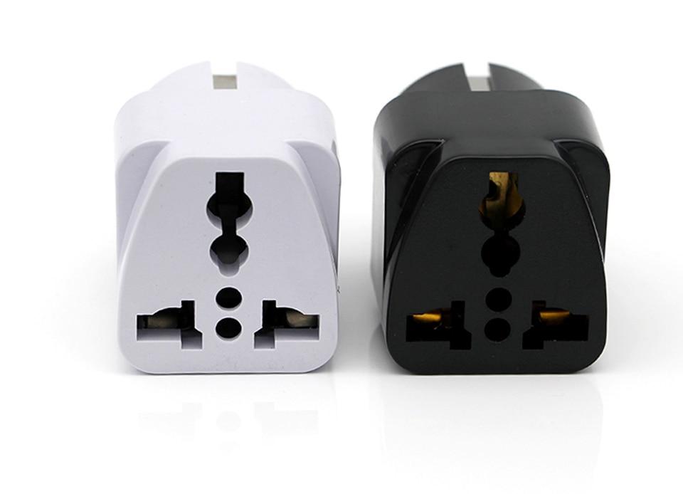 Universal Worldwide Adapter Electric Socket AU UK US EU Plug Adaptor Travel Wall Charger AC Power Option 2 USB Charging Port (11)