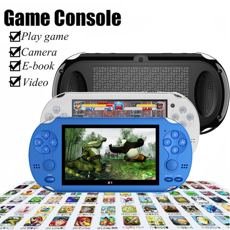 Game-Player Memory Console-4gb Colorful-Screen 32-Bit Handheld Portable Built-In-300-Games