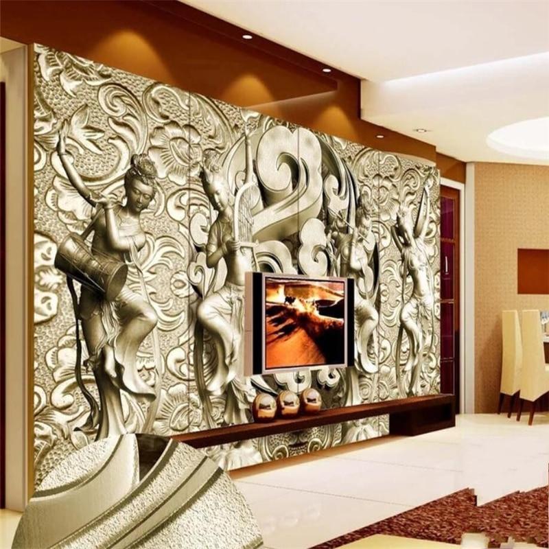 beibehang Wallpaper Mural Living Room Bedroom Custom 3D ...