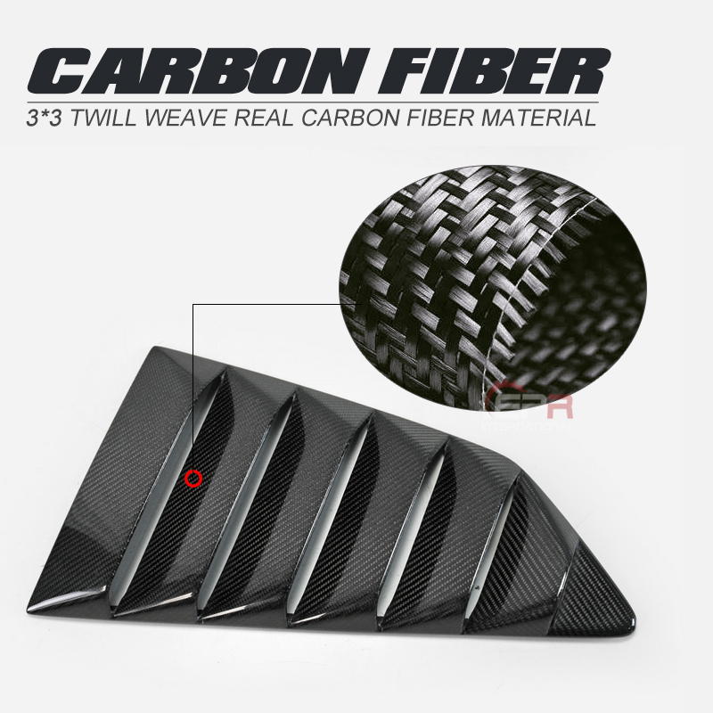 For Nissan 08-17 <font><b>R35</b></font> <font><b>GTR</b></font> Carbon Fiber <font><b>Rear</b></font> Louver image
