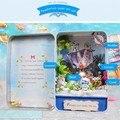 Nova Chegada Hoomeda E005 Paraíso Perdido Sob O Mar casa de Bonecas Kit DIY Caixa de Presente Coleção de Teatro Para Crianças Meninas