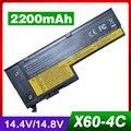 2200 мАч 14.8 В аккумулятор Для ноутбука IBM ThinkPad X60 X60s X61 X61s 40Y7001 42T4630 92P1168 93P5027 93P5028 92P1170 92P1168 42T4505