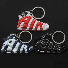 3Pcs/Lots Novelty Big AIR Key Chain Pendent For Man Woman Sneaker Silicone Kids Pendant Toys For Children Adults Gifts(China)