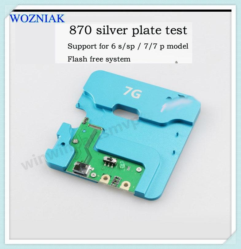 D'origine 4in1 pour iPhone hdd nand ic test socket disque dur ic test bon ou pas bon 6 s 6sp 7g 7 p mémoire PUCE IC test outils