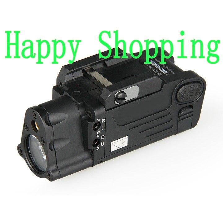 Tactical Laser Flashlight SBAL PL Hunting Weapon Light Combo Red Laser Pistol Constant Strobe Light for