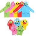 1pc Cartoon Animal Style Waterproof Kids Raincoat For children Rain Coat Rainwear/Rainsuit Student Poncho Free Shipping