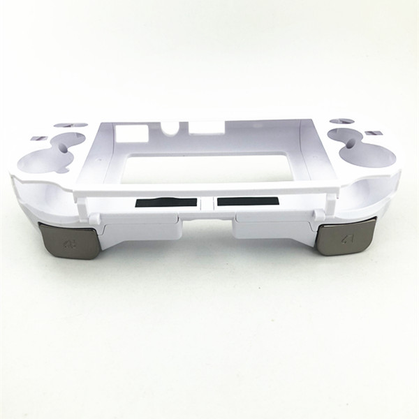 Купить с кэшбэком Matte Hand Grip Handle Joypad Stand Case Shell Protect with L2 R2 Trigger Button For PSV1000 PSV 1000 PS VITA 1000 Game Console