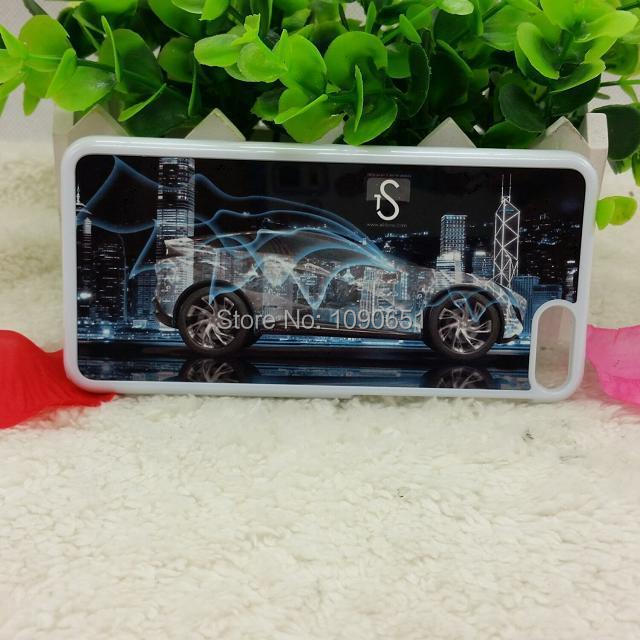 Blank sublimation plastic case with metal insert for
