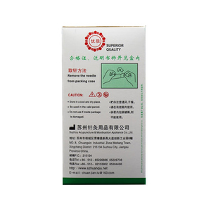 Image 2 - 500 PCs / box new  global disposable acupuncture needles / sterile acupuncture needles / stainless steel acupuncture needles
