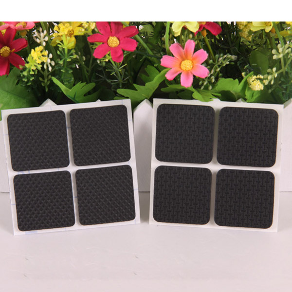 Superieur 8Pcs Black Protective Furniture Table Chair Foot Square Pads Mats Floor  Savers Kit