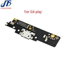 10 ピース/ロット USB ドック充電ポートコネクタボードフレックスモトローラモト G4 プレイ充電ポートフレックスリボン