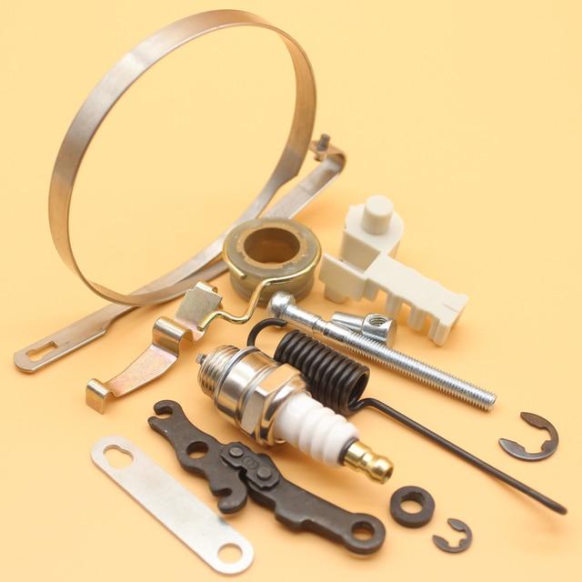 Banda de freio Kit de Reparação de Mola do Tensor Para STIHL MS170 MS180  017 018 dacd983da1